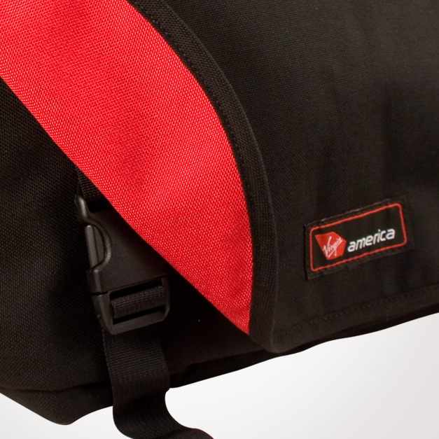 Rickshaw bags for Virgin America